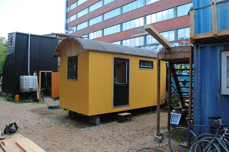 Cinema Wagon built by Bodil Krogh