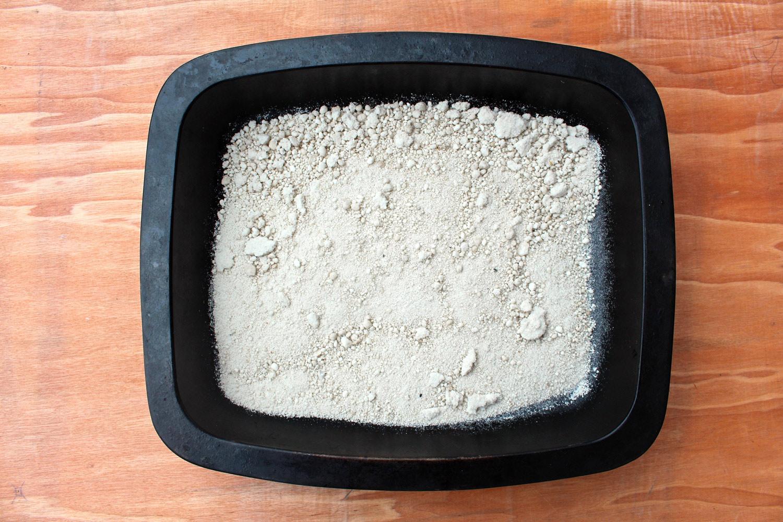 Sea salt harvest