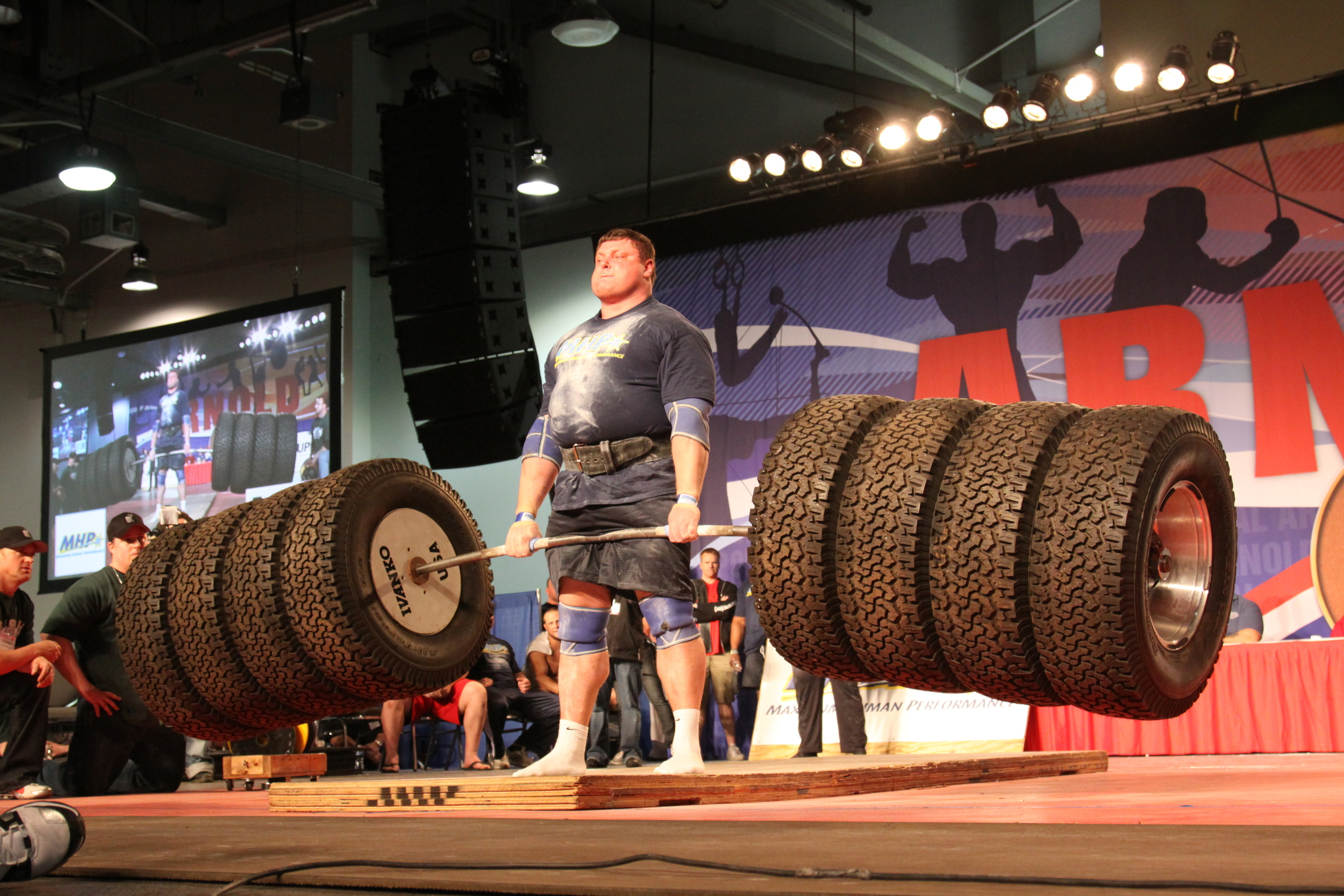 If the strongest strength athlete of all time does the tire deadlift, then maybe we should too.