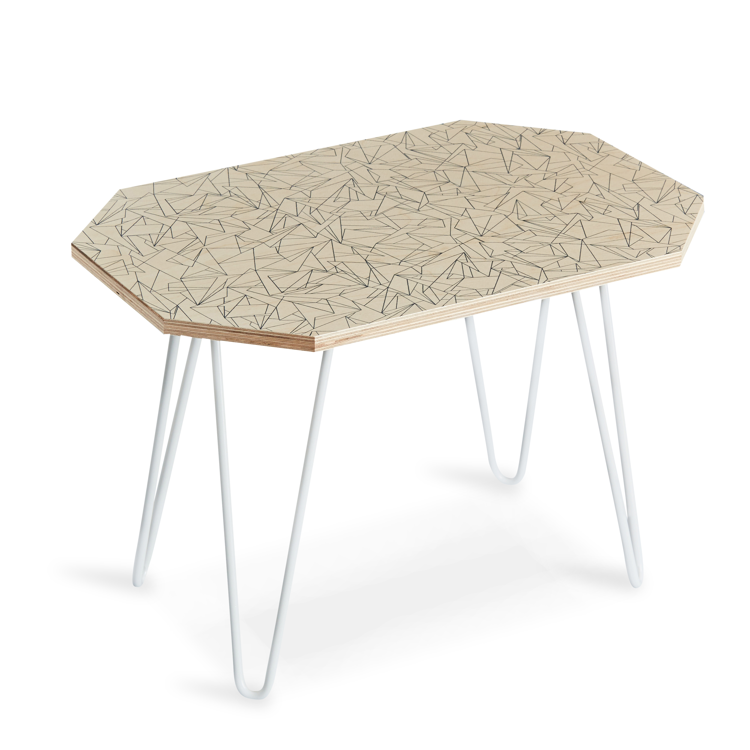 Cracked Ice Side table