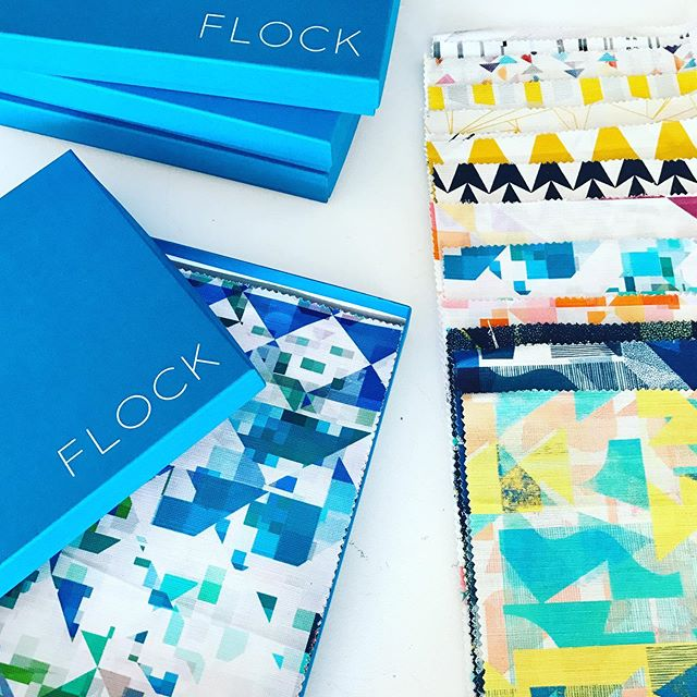 Last job of the day.... ✅ Bring on the bank hol ✨  #flockfabrics #flockstudio #Print #pattern #surfacedesign #colourful #geometric #textiles #fabrics #furnishingfabrics #fabricbythemetre #madeintheuk #artists #designers #graduatedesigners #design #interior #interiordesign #interiordecor #interiorstyling #product #samples #sampleboxes #patternyourhome #banthebeige #colourlover #colourhunter #ihavethisthingwithcolour #colourcolorlovers
