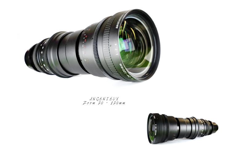 ANGENIEUX 20 -120 mm (x2) ANAMORPHIC