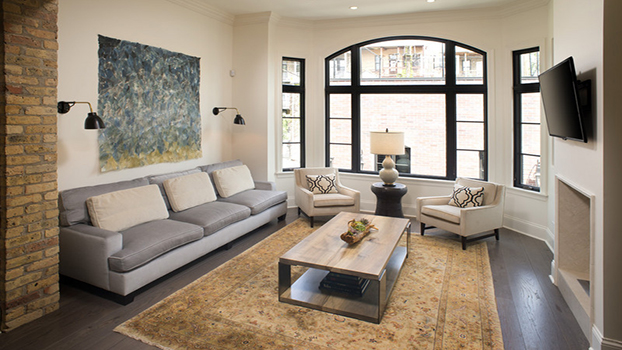 Staging reminds buyers of a homes' potential--soothing,peaceful beauty.