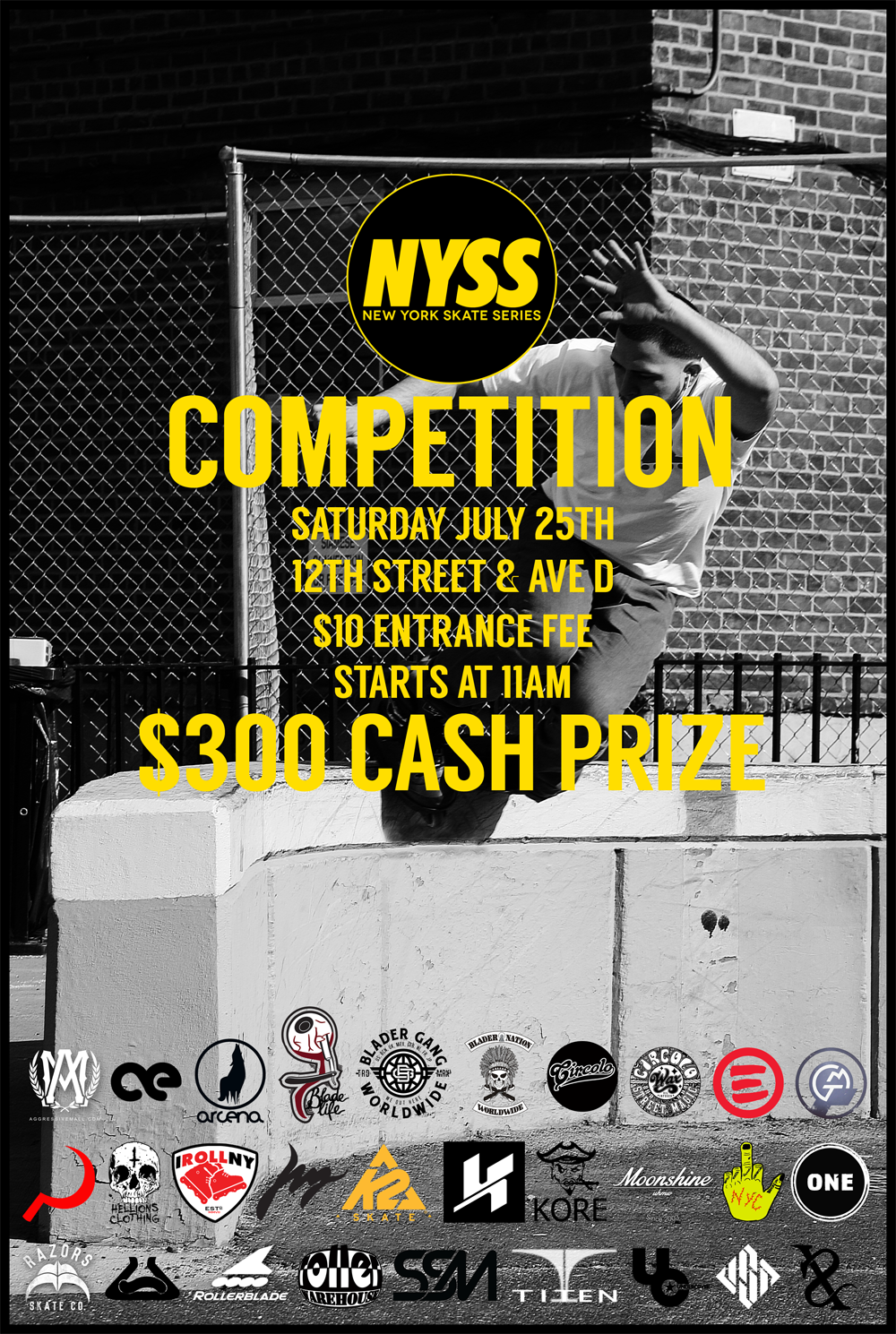 NYSS 1 Official Flyer