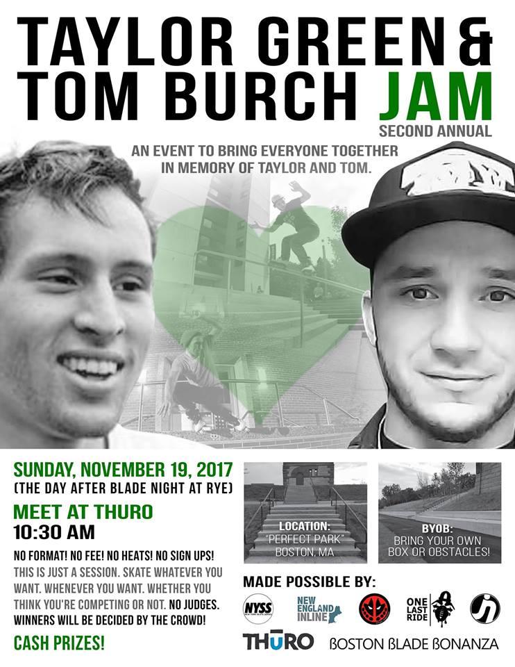 Taylor Green + Tom Burch Memorial Jam