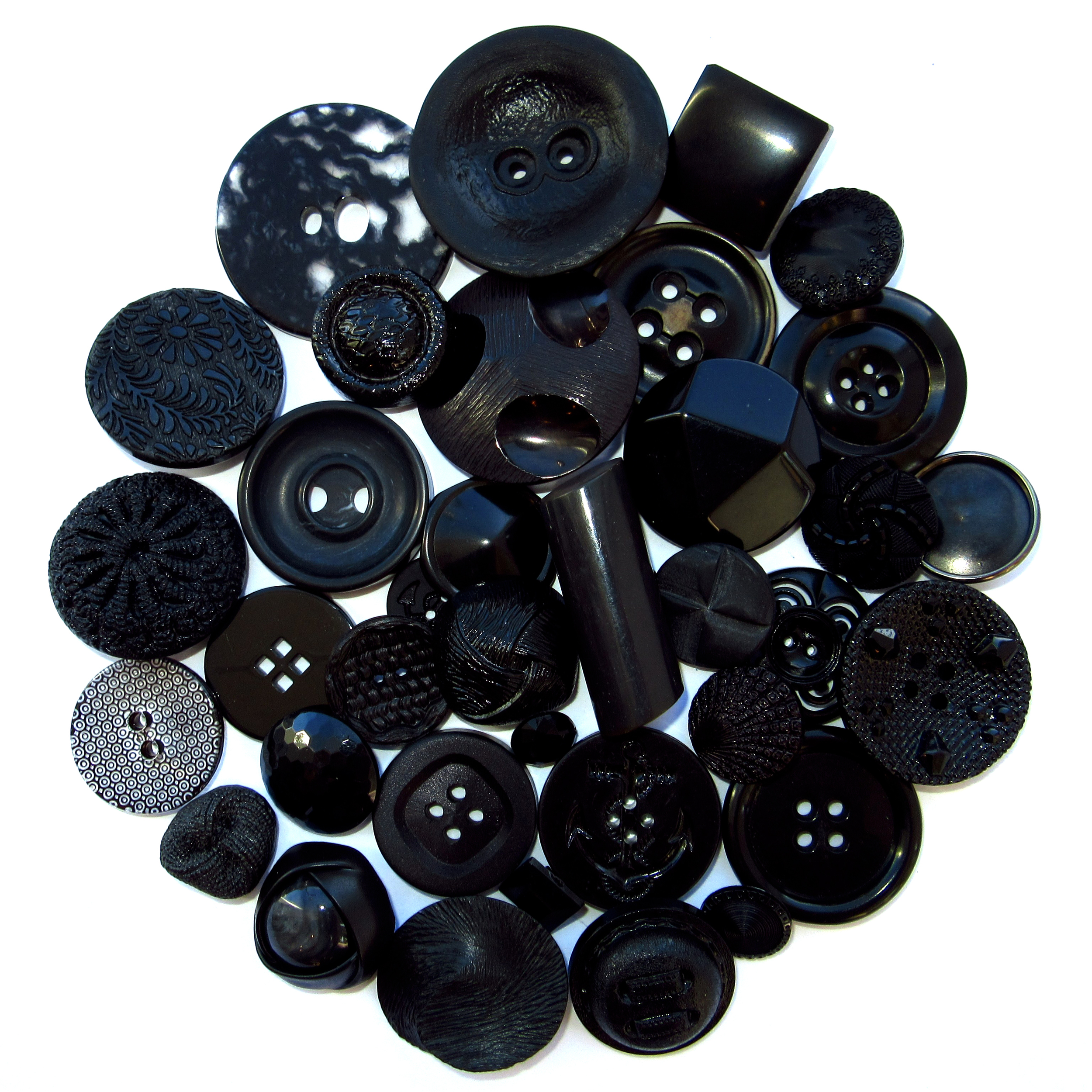 Boutons noirs