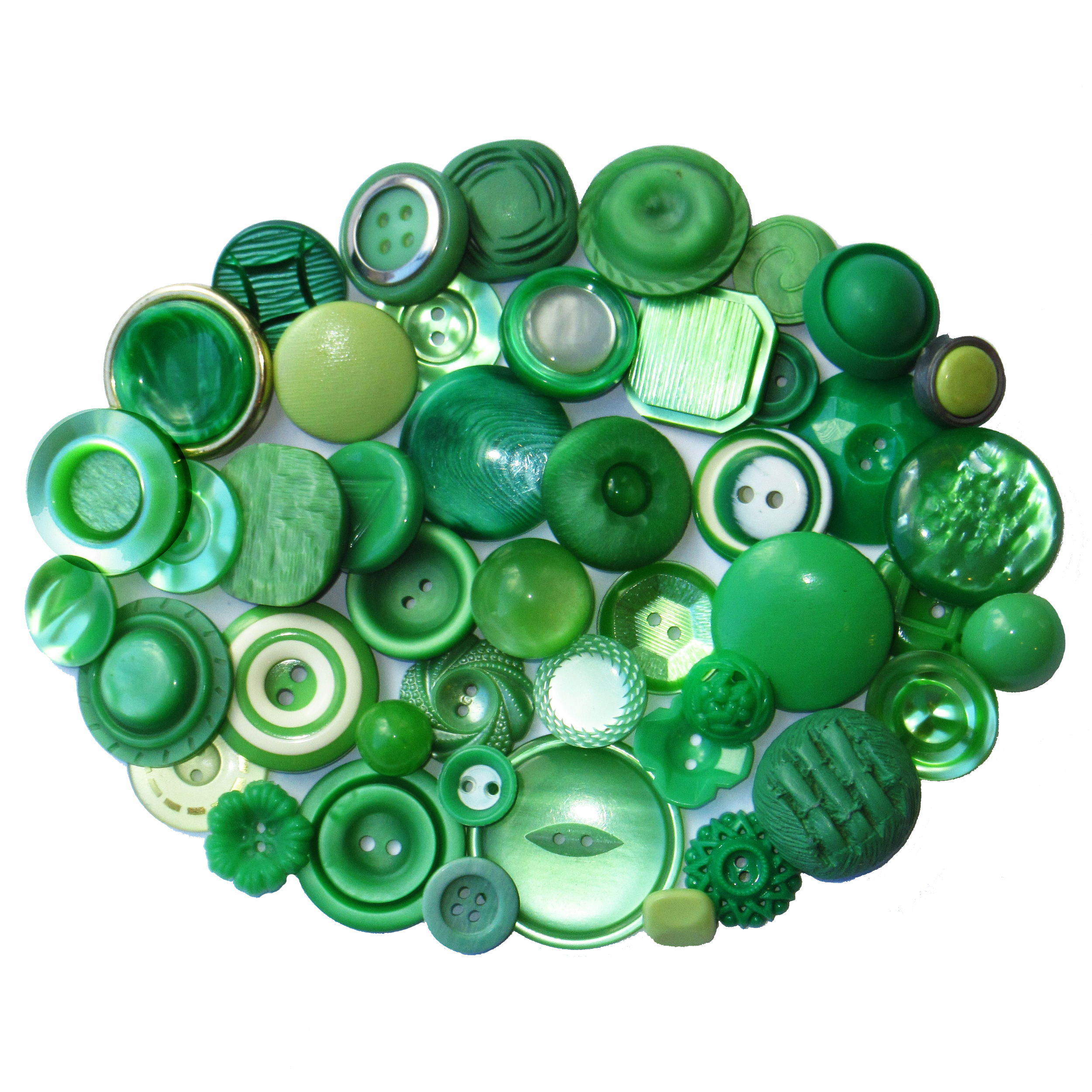 Boutons verts
