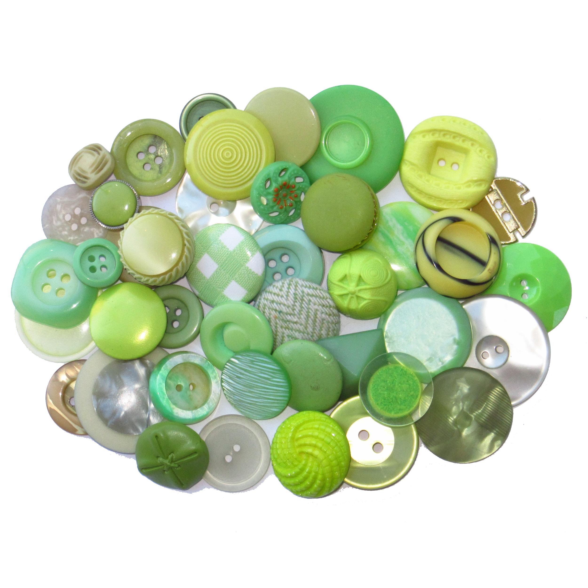 Boutons vert clair