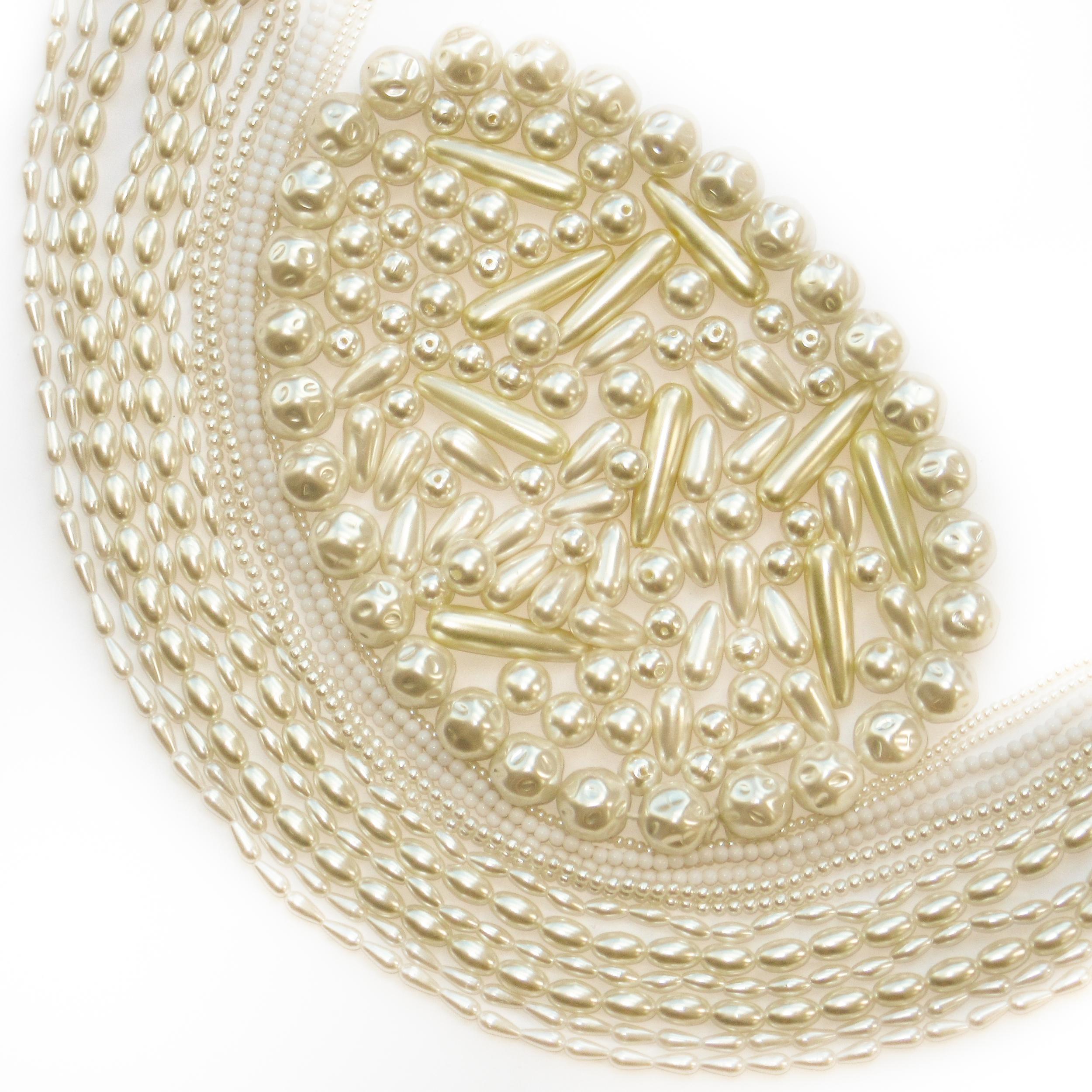 Perles pour la mariée