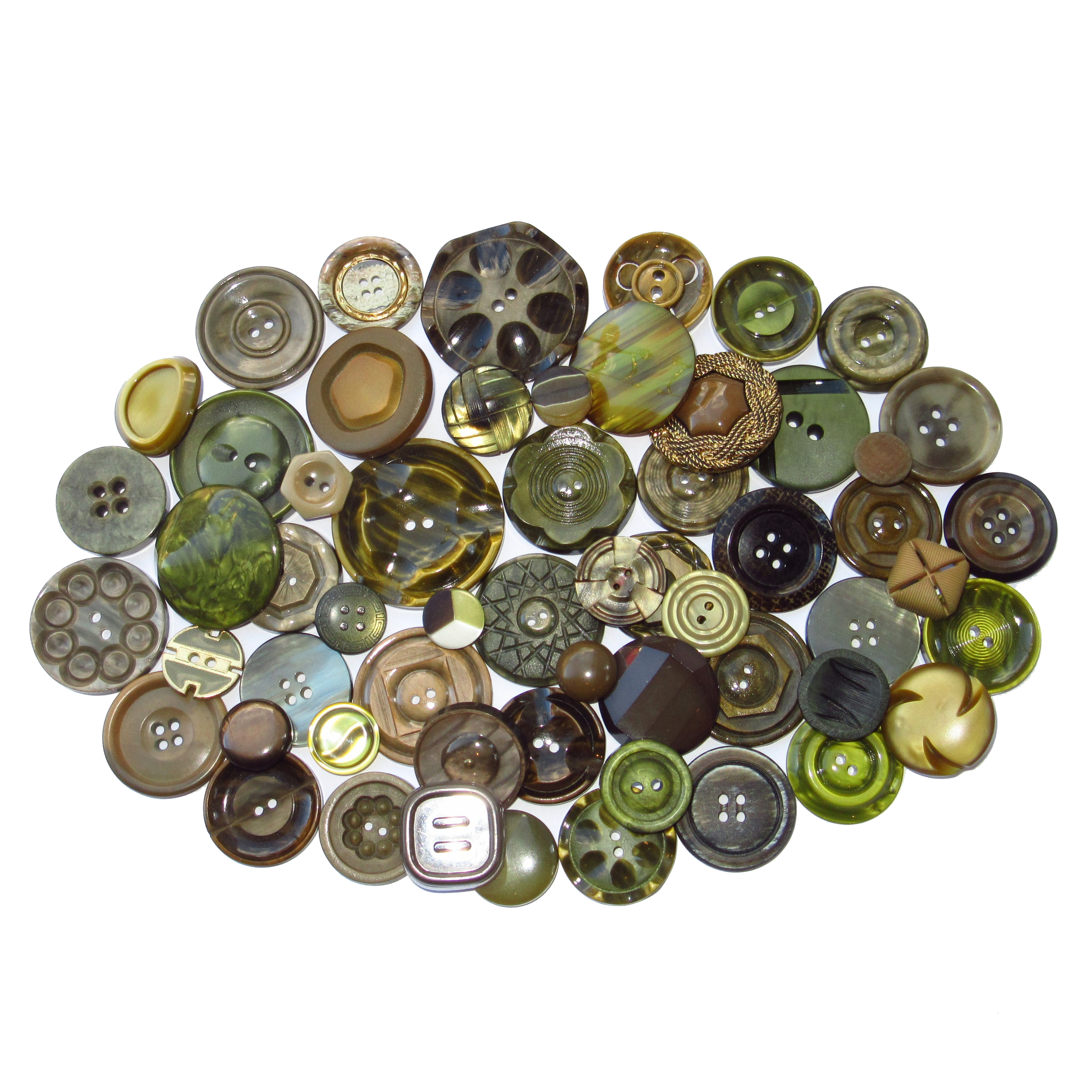 Kaki buttons