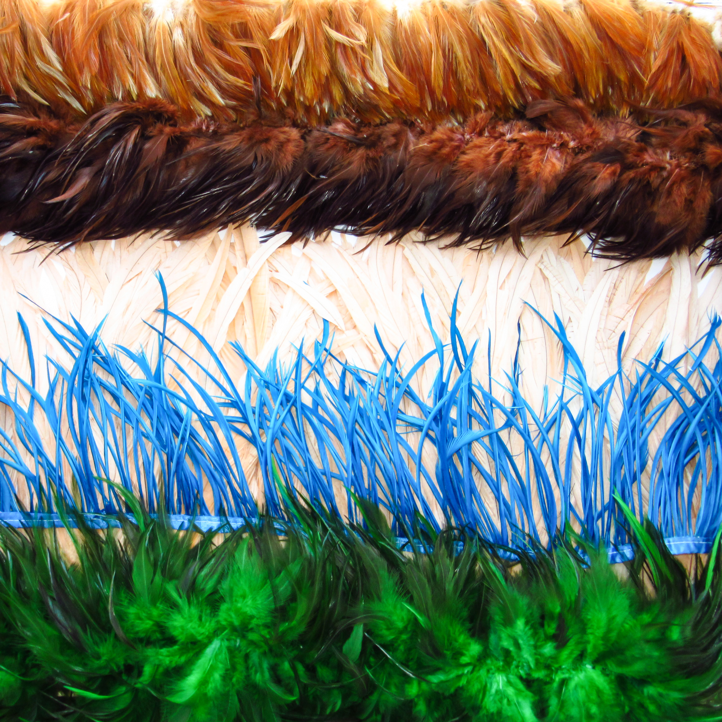 Feather fringes