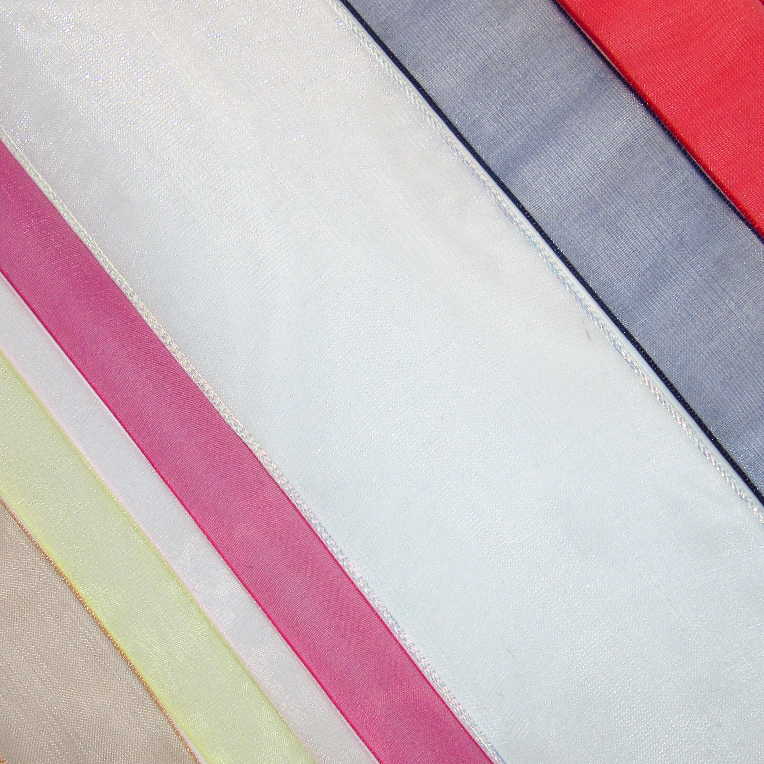 Organza ribbons