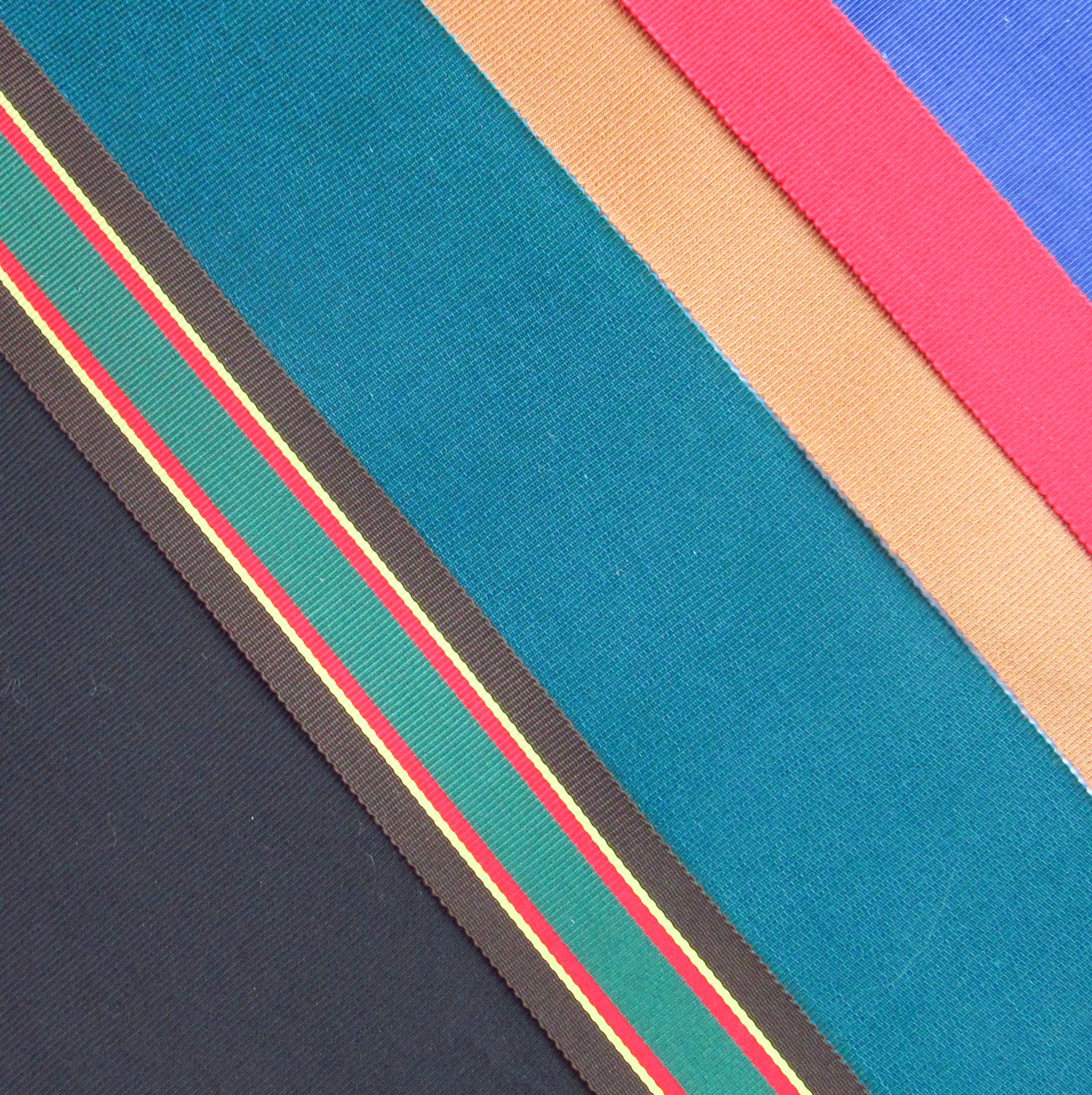 Gros grain ribbons