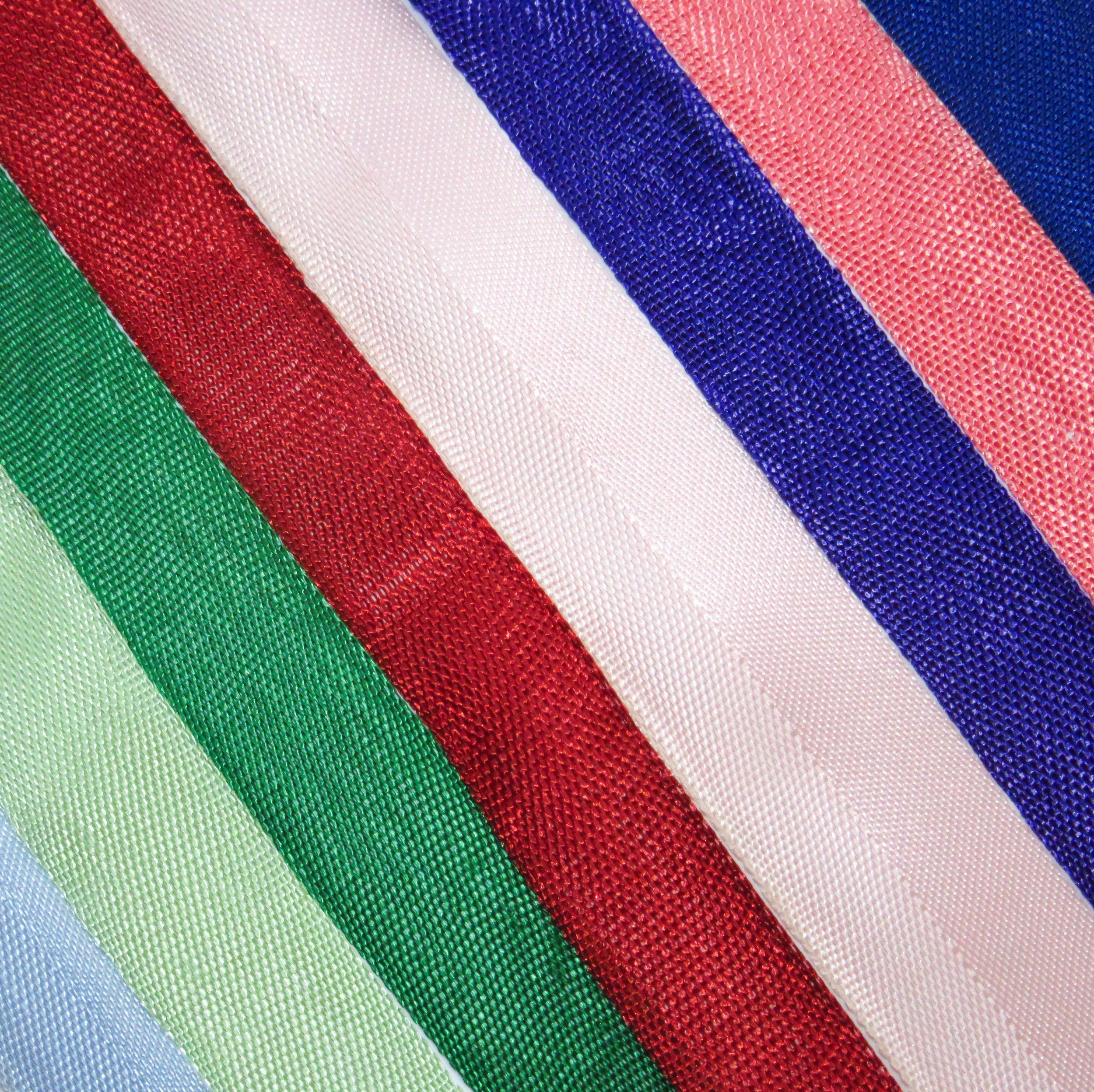 Ribbons for edge hems