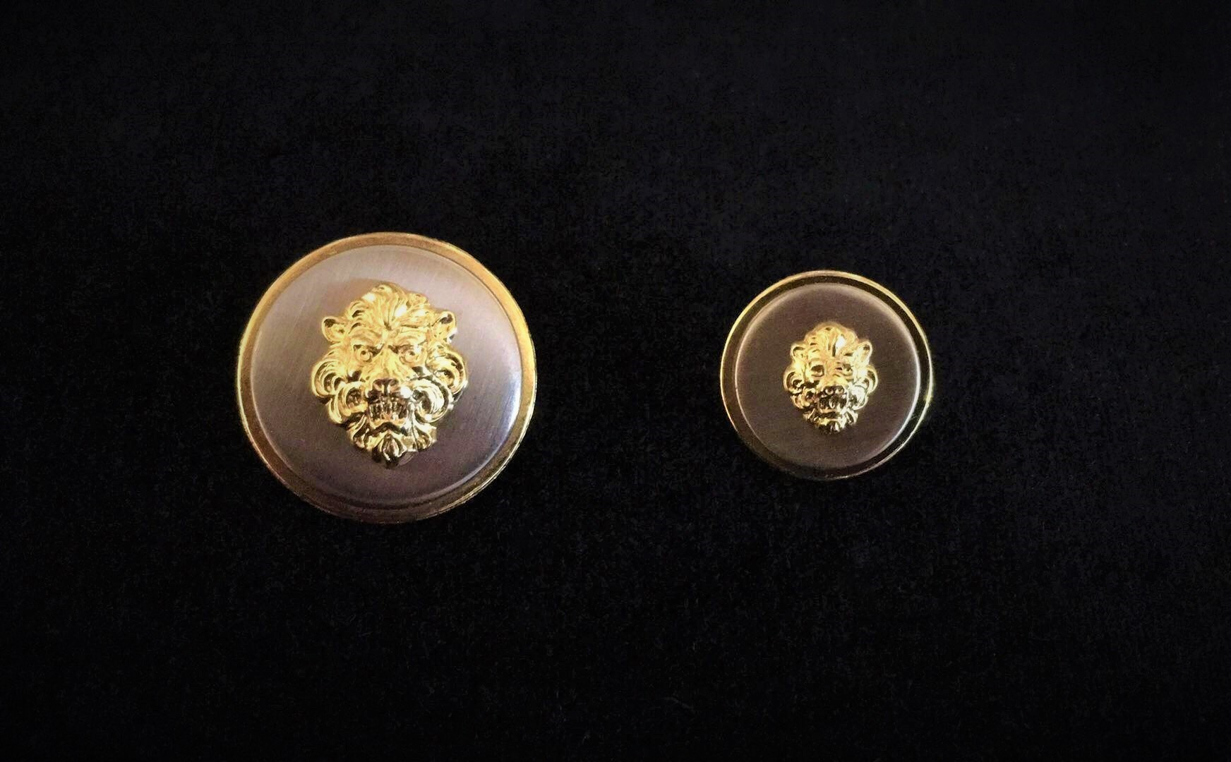 Metal Versace Style Buttons