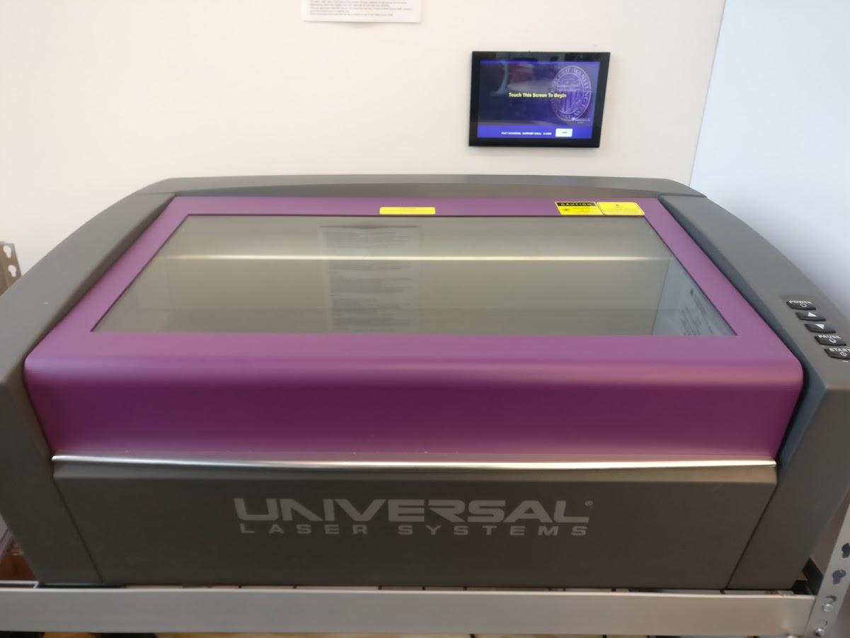My favorite machine - the ULS 1' x 2' laser cutter