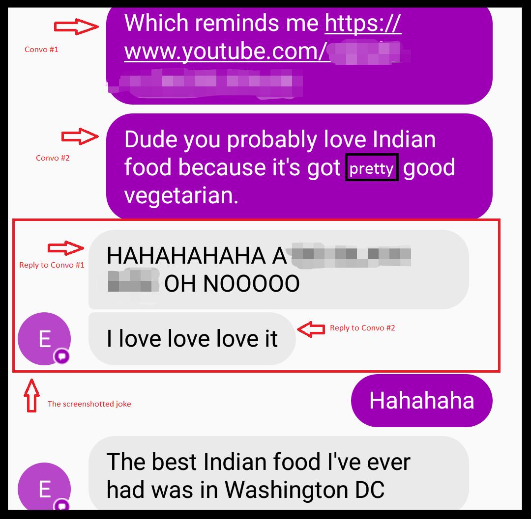 A screenshotted joke for idea 2