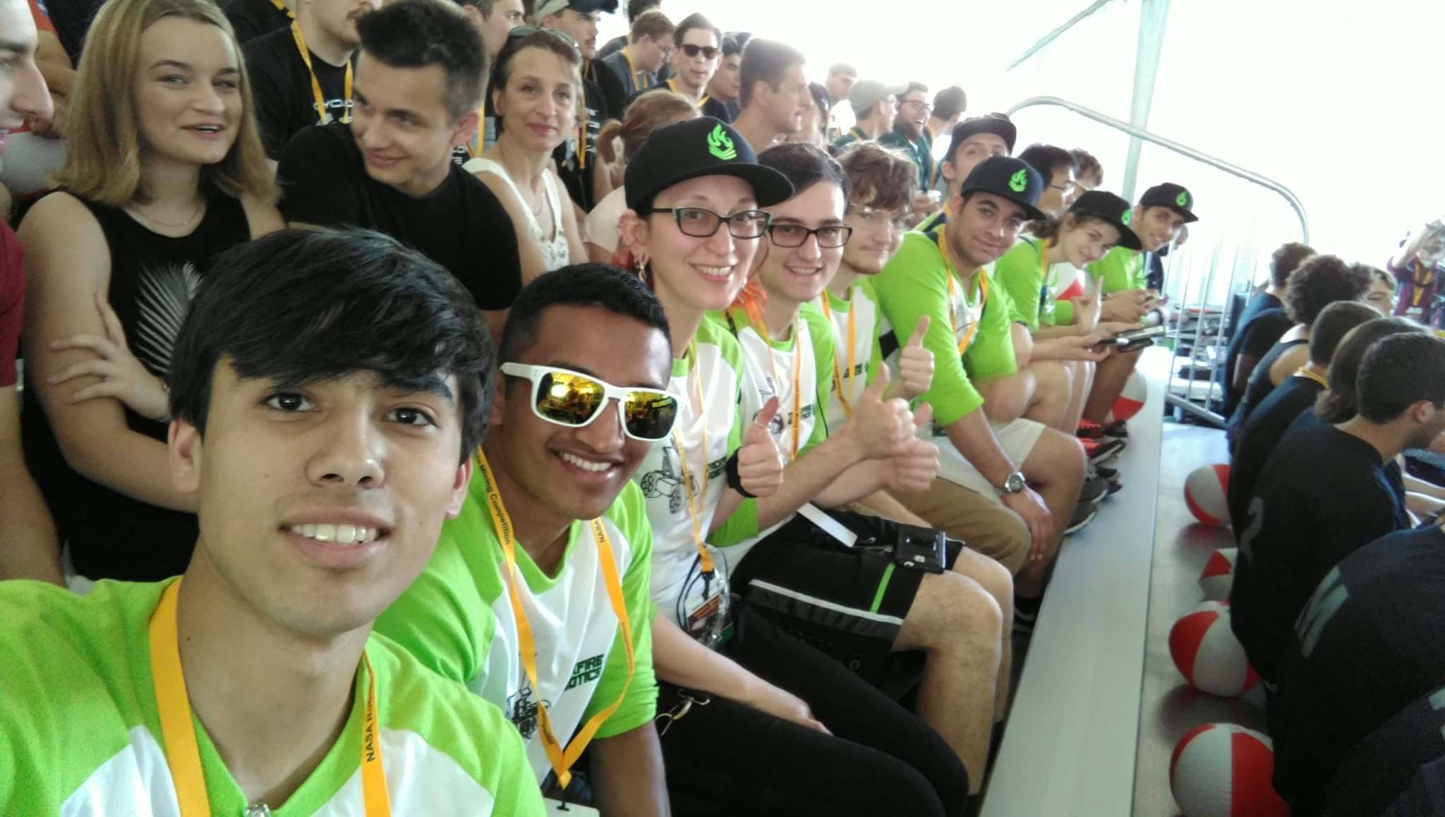 Ready for opening ceremonies!