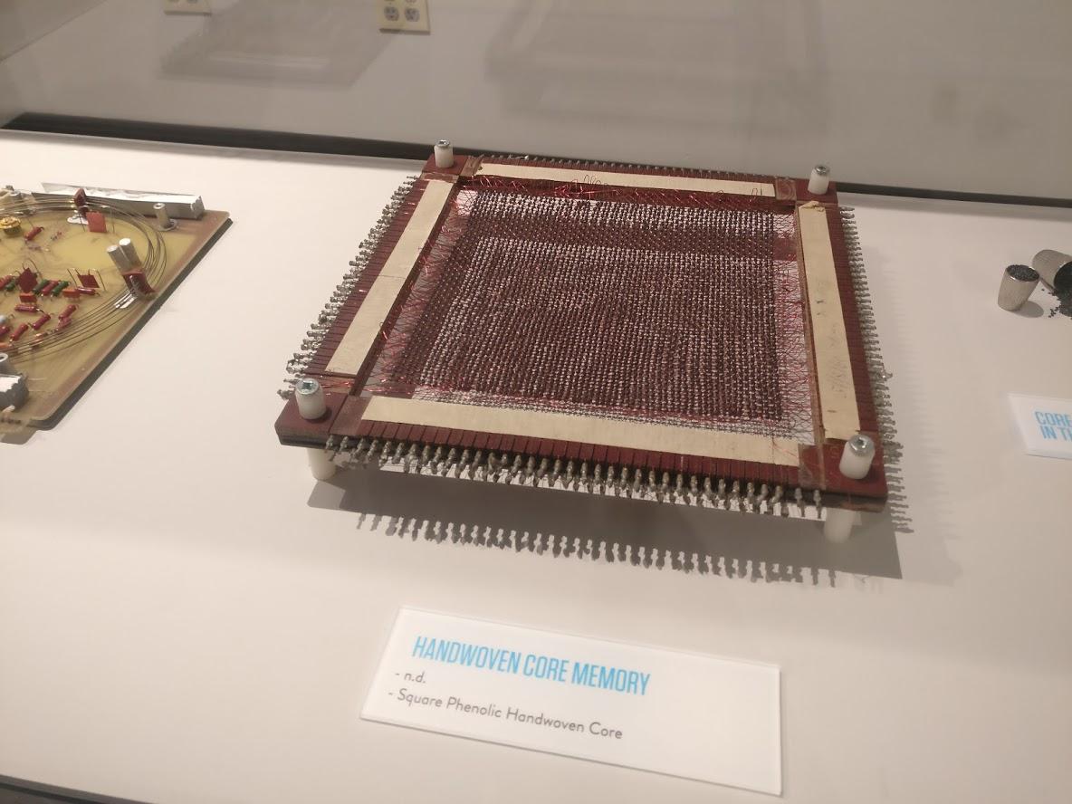 Handwoven Core Memory