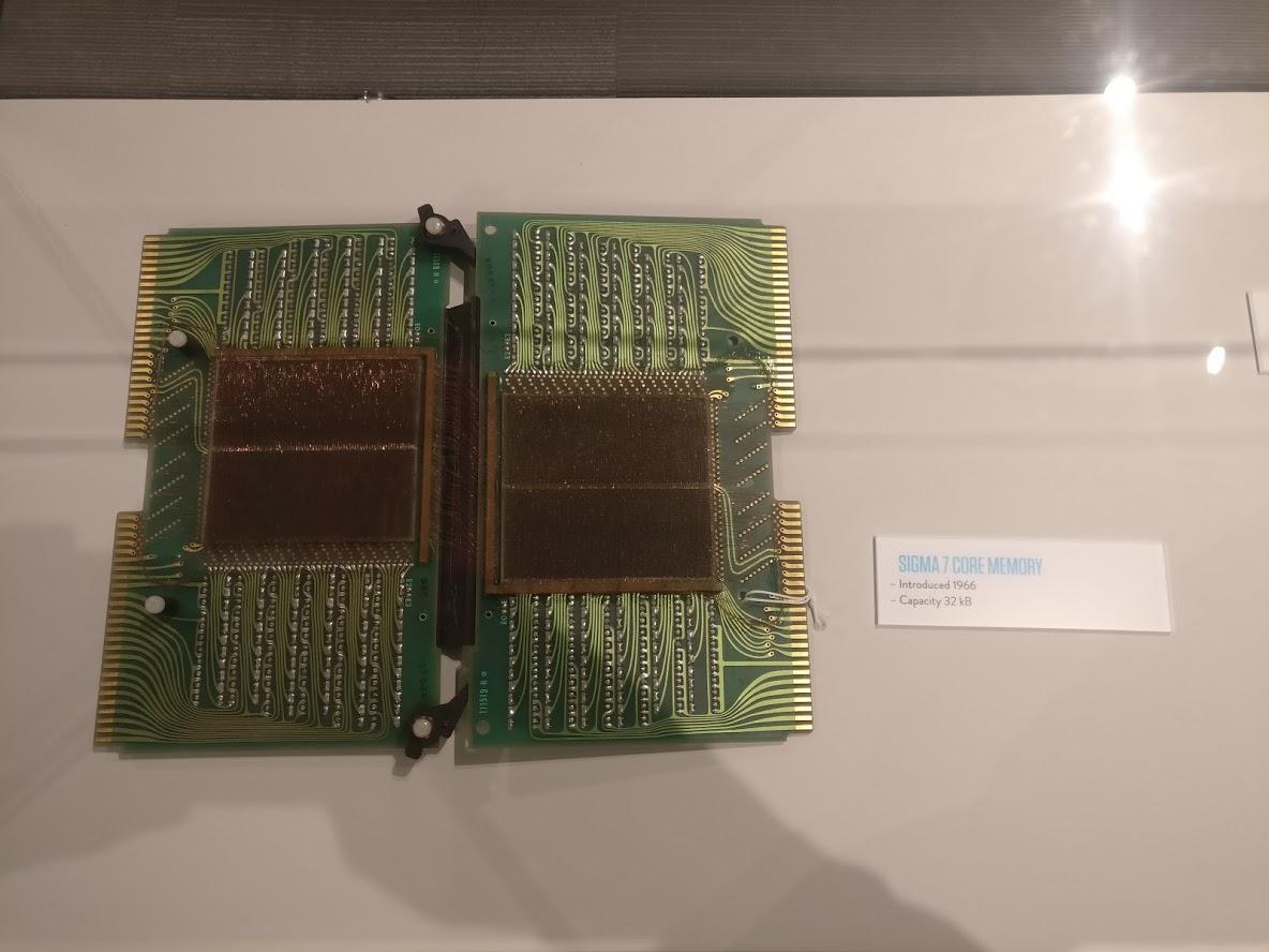 Sigma 7 Core Memory