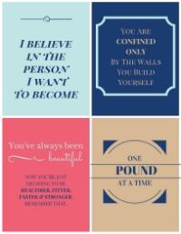 PCOS Motivational Printables