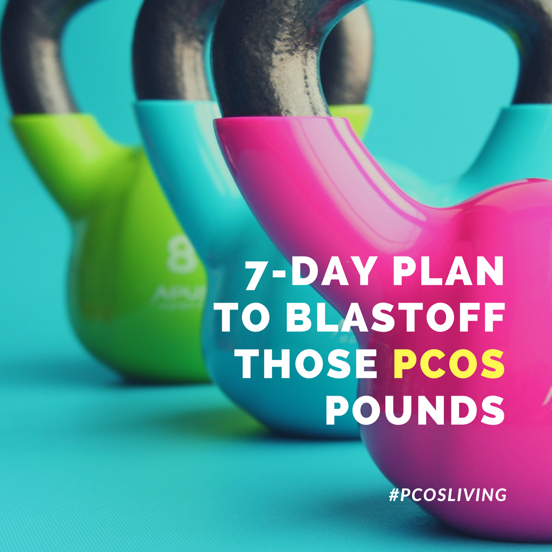 7- Day Diet & Exercise Plan to lose weight with PCOS | PCOSLiving.com