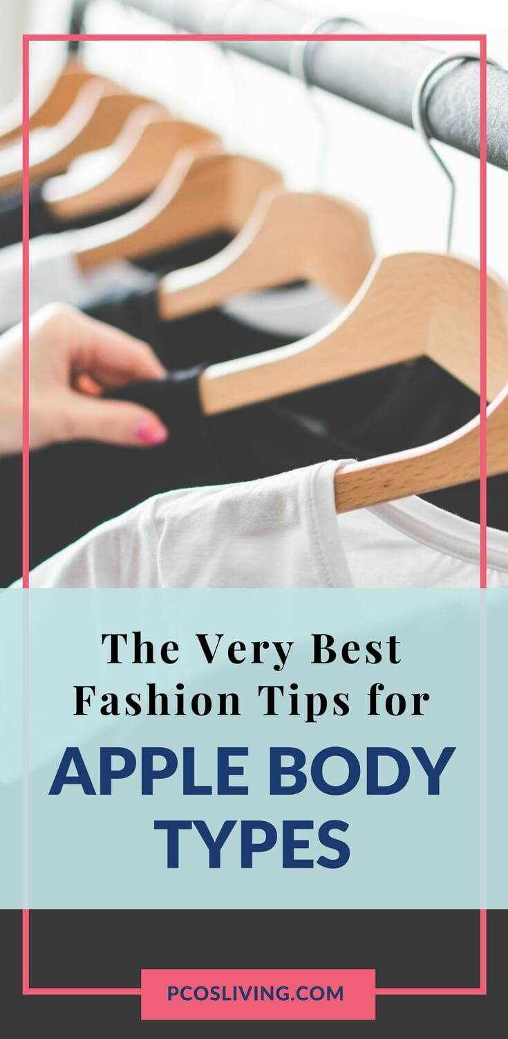 Best fashion tips for apple body types // PCOS Fashion Advice // Vogue or Bust Guest Post // Apple Body Types & Fashion // How to dress a big bust    PCOSLiving.com