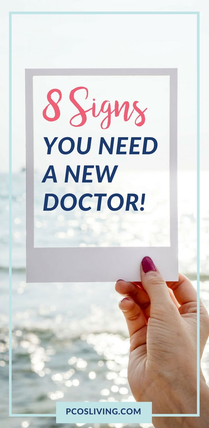 The Doctor & Patient Relationship is critical to success. Watch out for these 8 red flags. If you aren't getting treated properly, it is time to breakup and find a new doctor. // Women's Health // Get a second opinion // PCOS // Be your own advocate // PCOSLiving.com