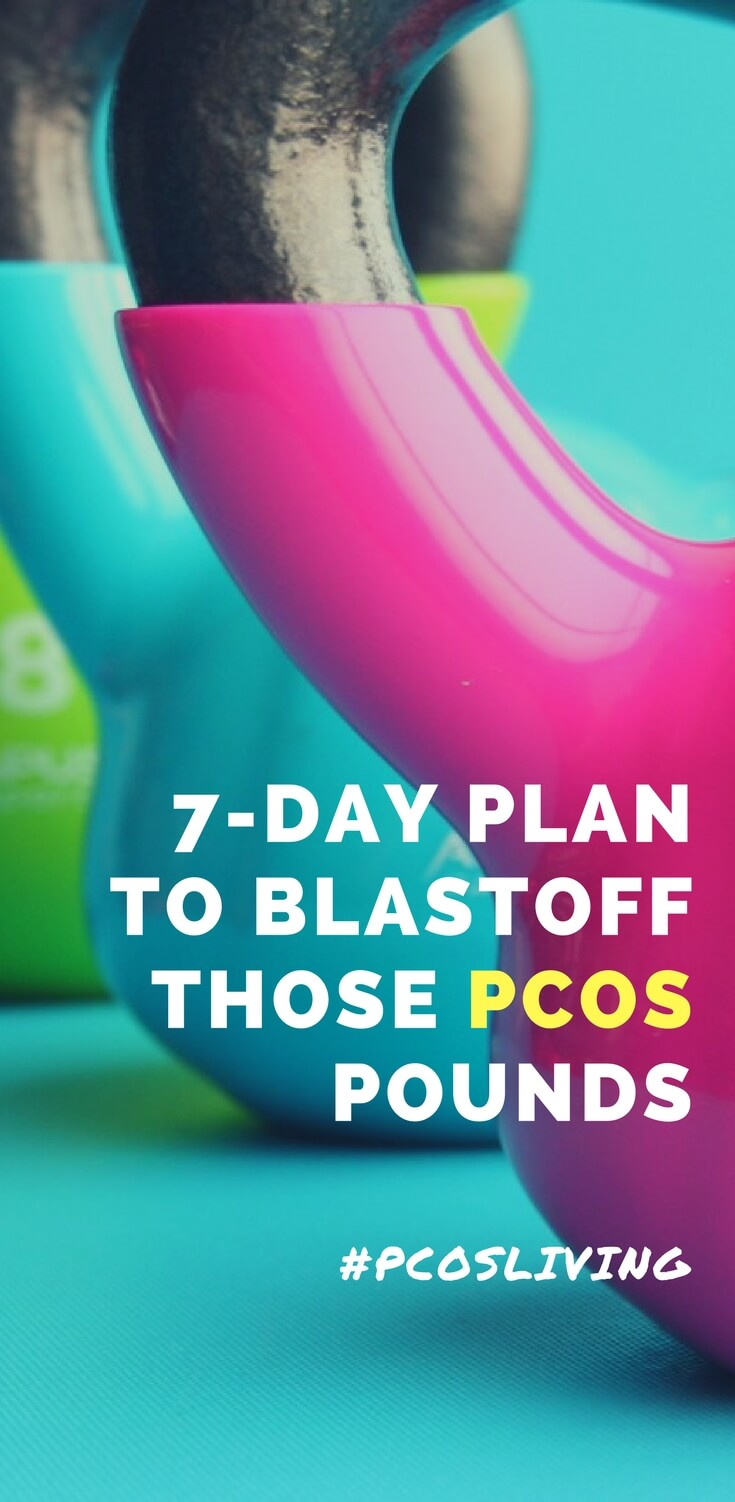7-Day Diet & Exercise Plan for PCOS Weight Loss // PCOS Weight loss // PCOS Exercise Plan // PCOS Diet Plan // PCOS Natural Remedies // PCOS Weight Loss Plan // How to lose weight with PCOS | PCOSLiving.com #pcosliving #PCOS #PCOSWeightLoss #PCOSWeightLossPlan