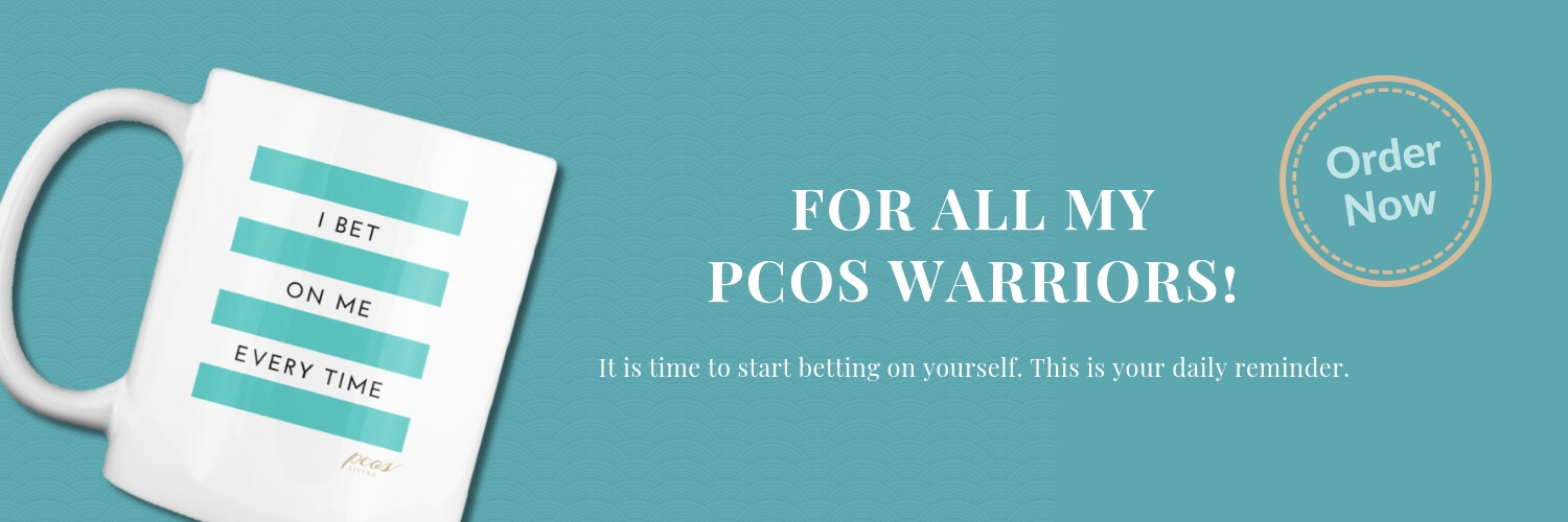 PCOS Living I BET ON ME EVERY TIME motivational mug. Get yours today. They make great gifts. |  PCOSLiving.com  #pcos #mug