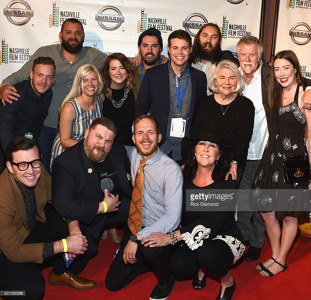 Cast, crew, and family at the 2016 Nashville Film Festival.