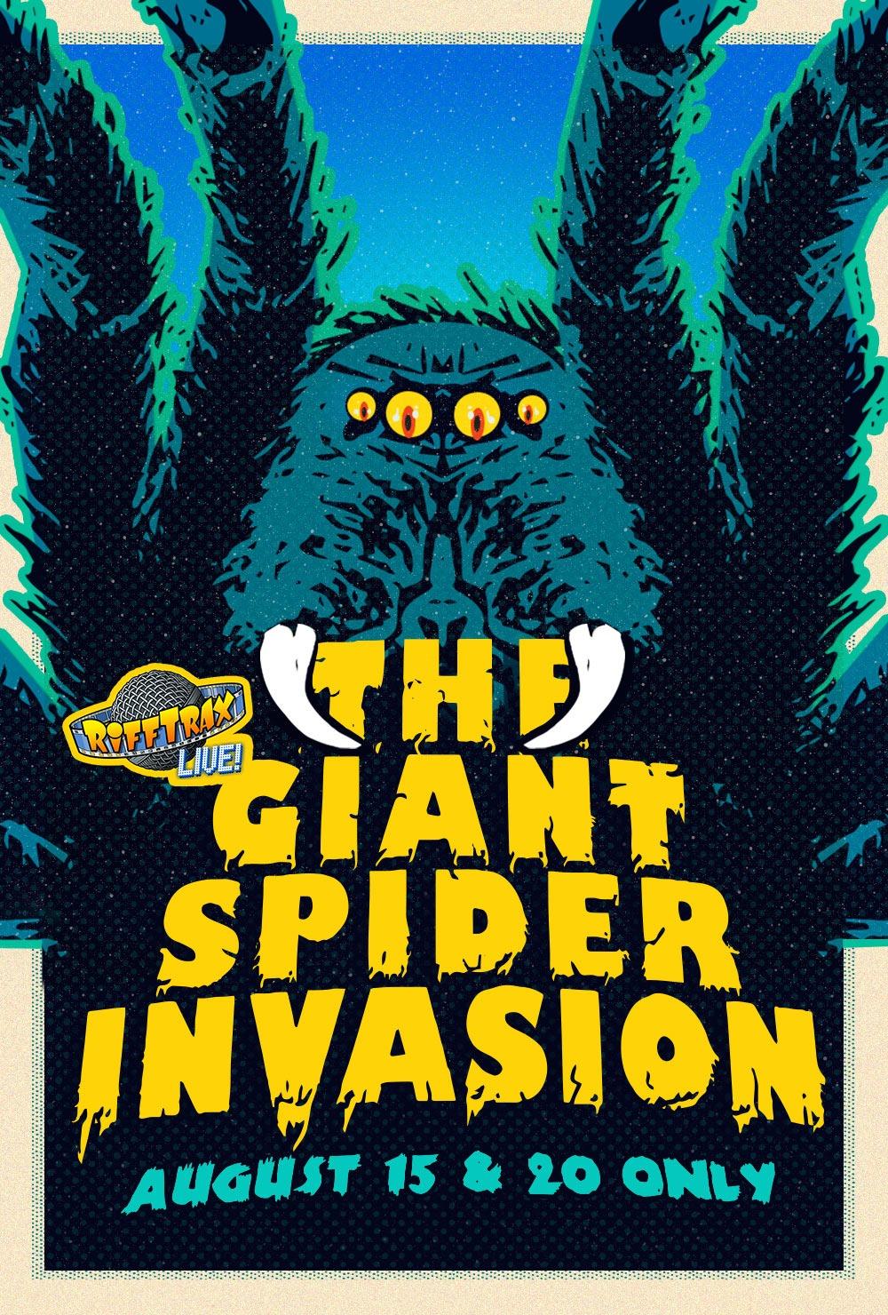 RiffTrax Live: Giant Spider Invasion -