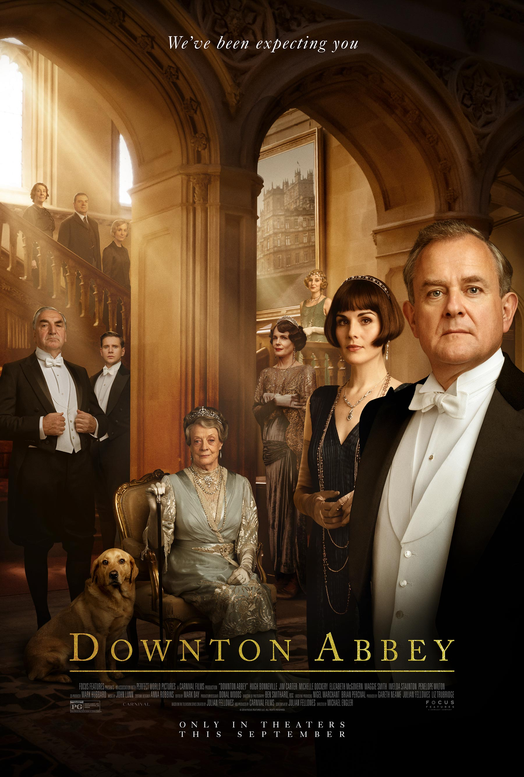 Downton Abbey the Movie poster 