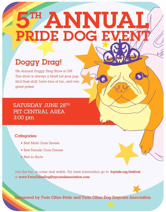 dog drag show at minneapolis pride