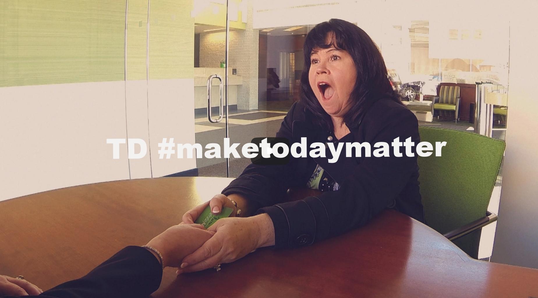 TD #Maketodaymatter