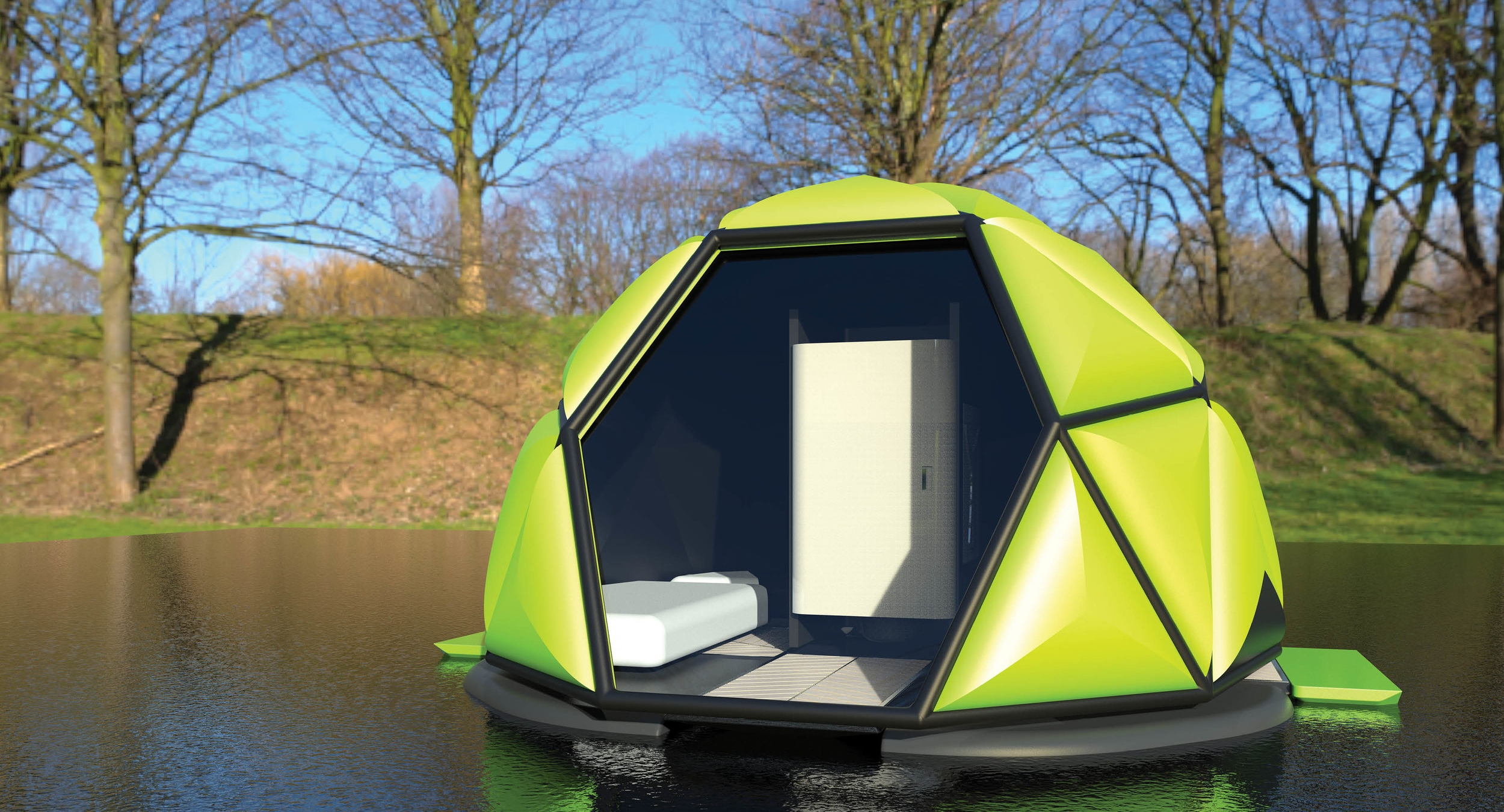Tent on The Lake