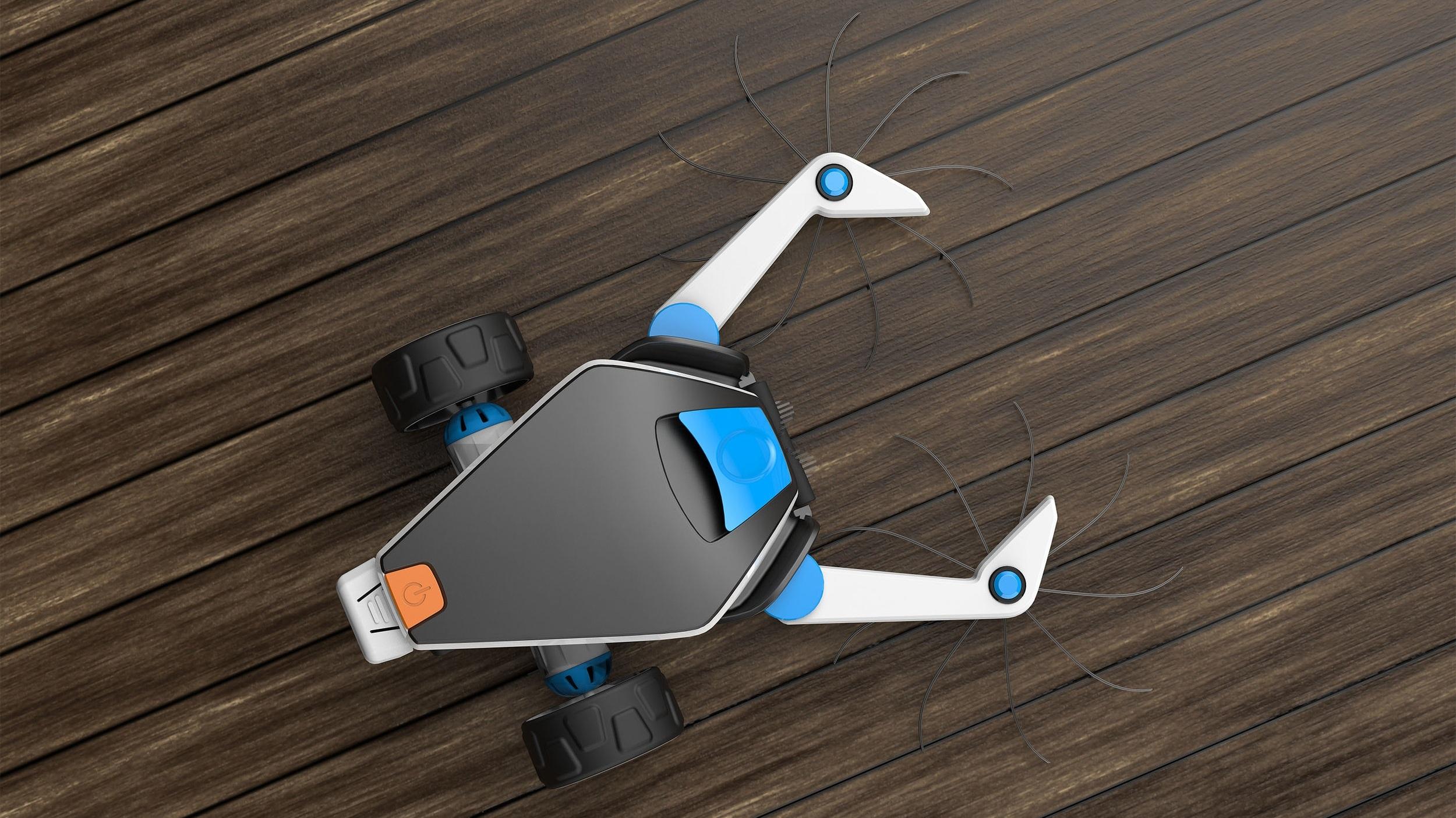 SQUIIZ  - Robot cleaner..