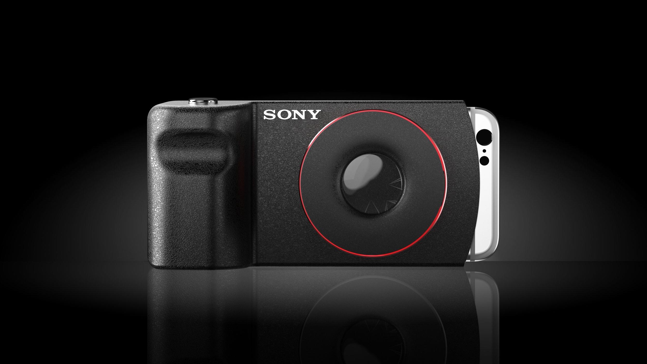 POWER-VIEW  - Detachable wireless camera lens..