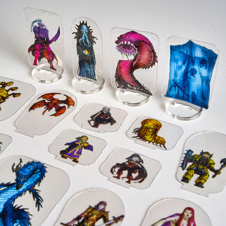 ArcKnight Games flat plastic miniatures