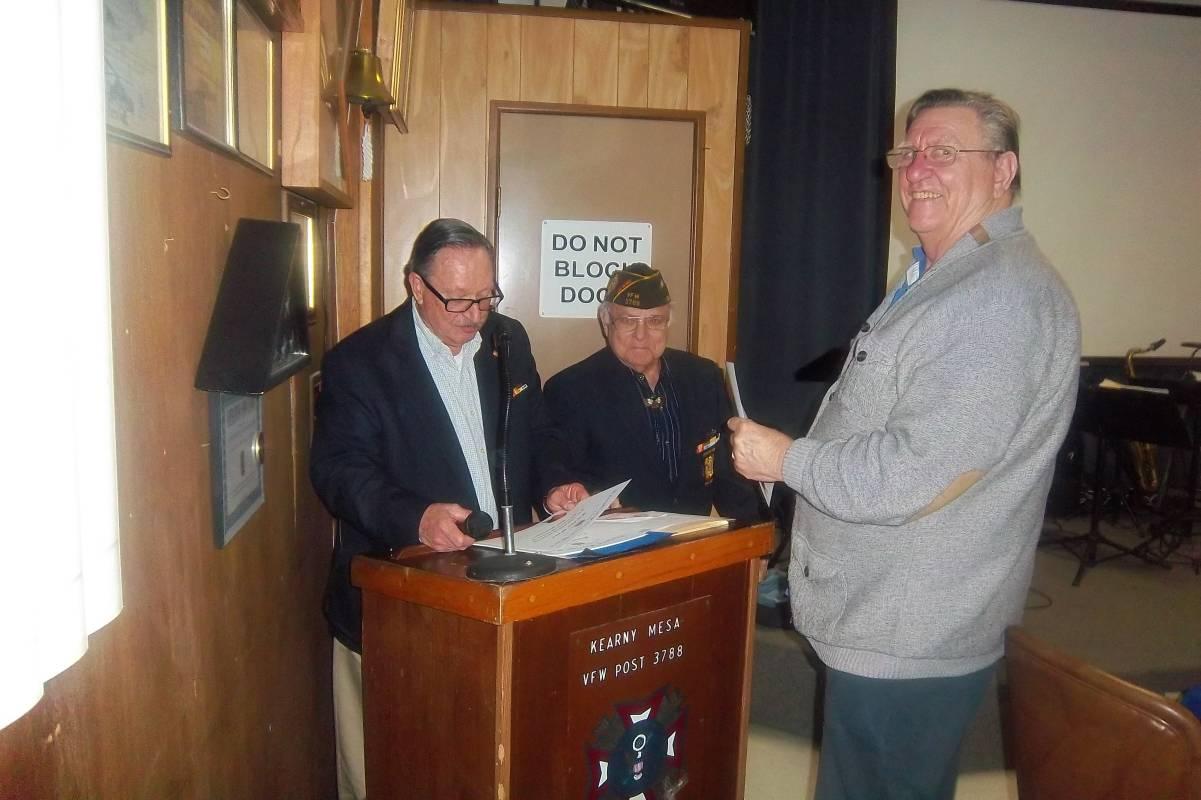 Richard Vennoy Receiving a citation.jpg