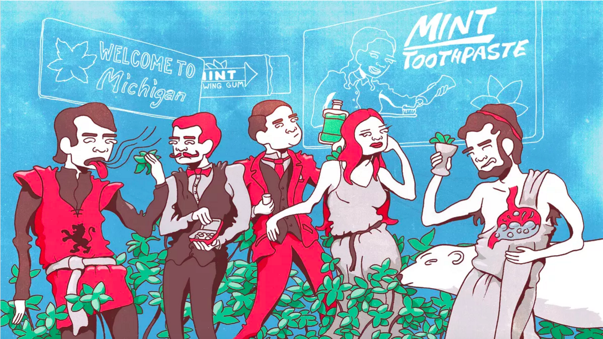 A Brief History of Mint, from Air Freshener to Breath Freshener
