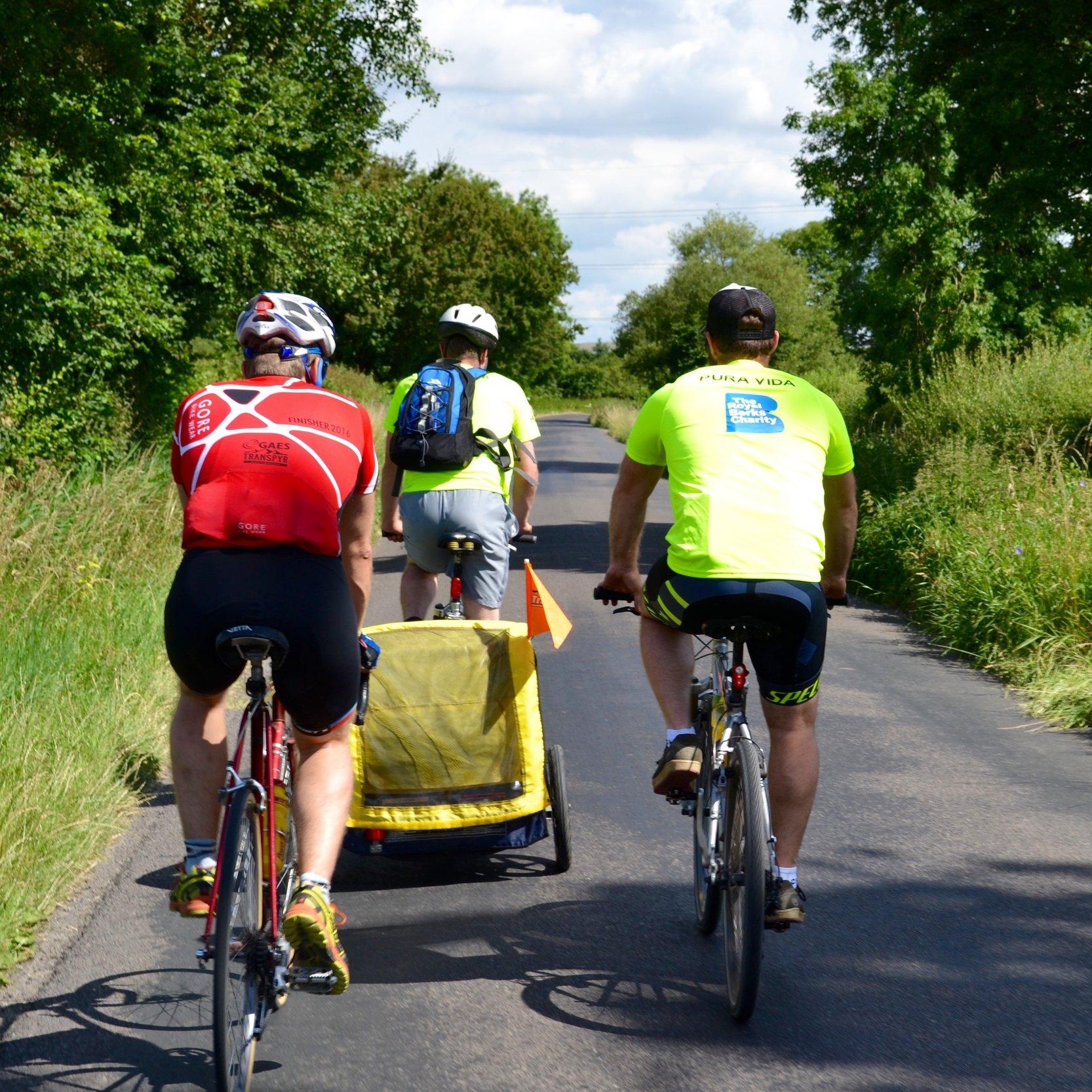 Pub2Pub Charity Cycle. Newbury to Bath.