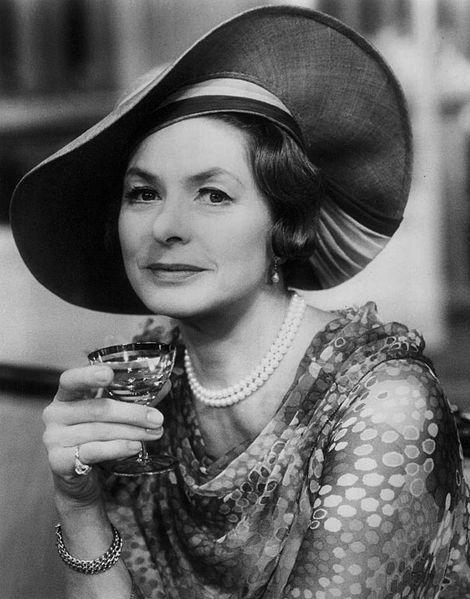 Ingrid Bergman in  The Constant Wife , 1975.