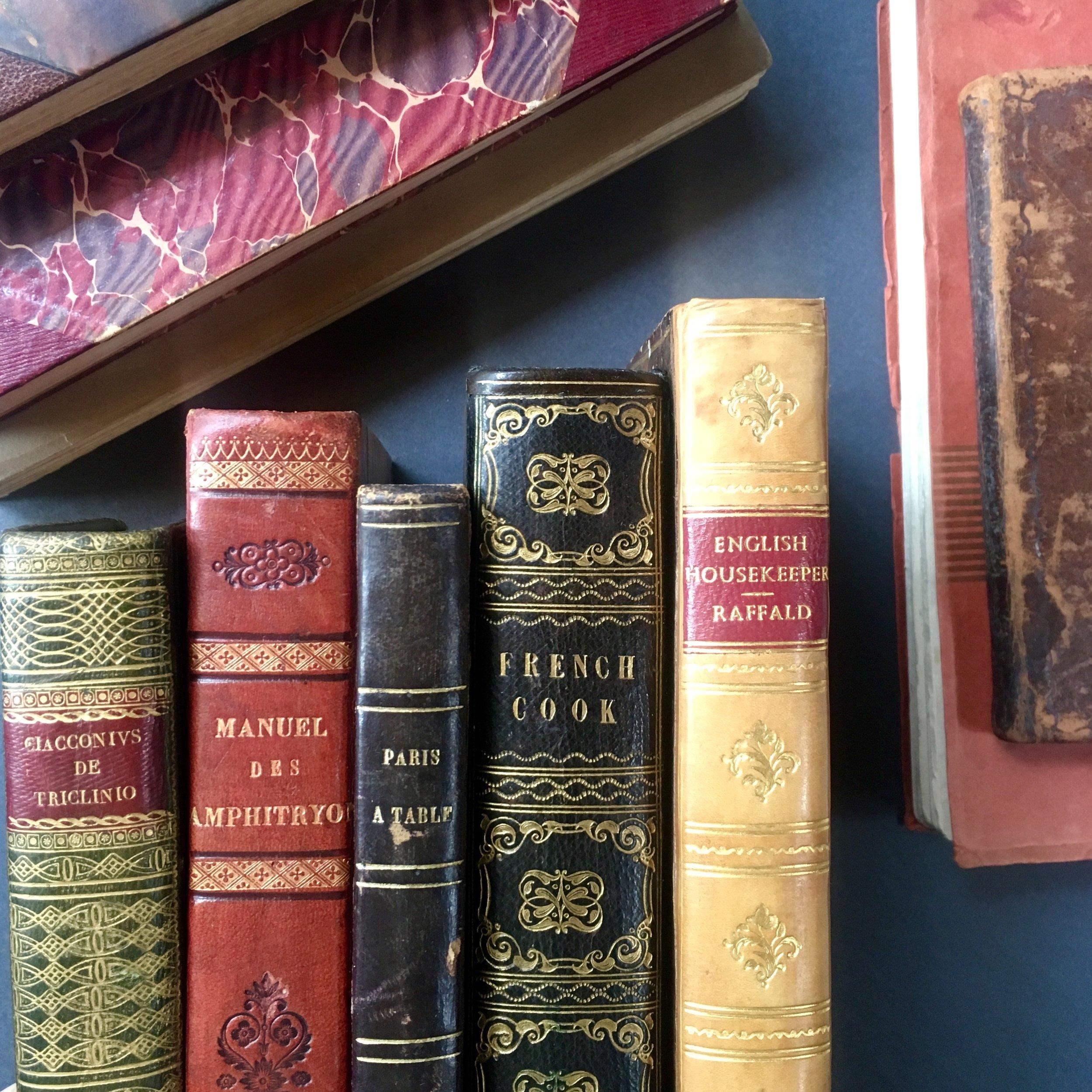 culinary rare books