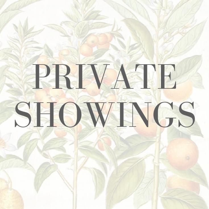 Private Showings Rare Books
