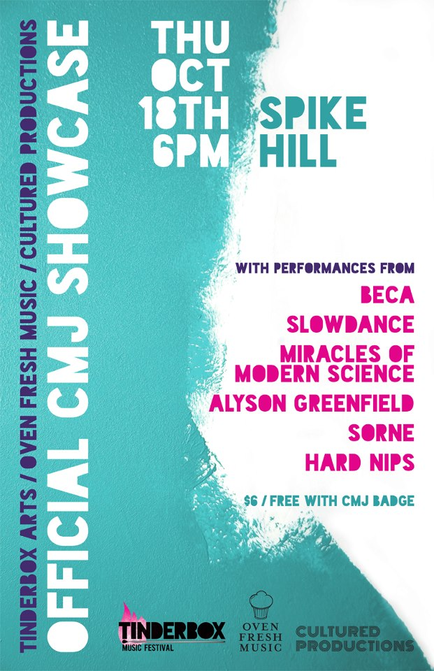 Joint CMJ Showcase 2012
