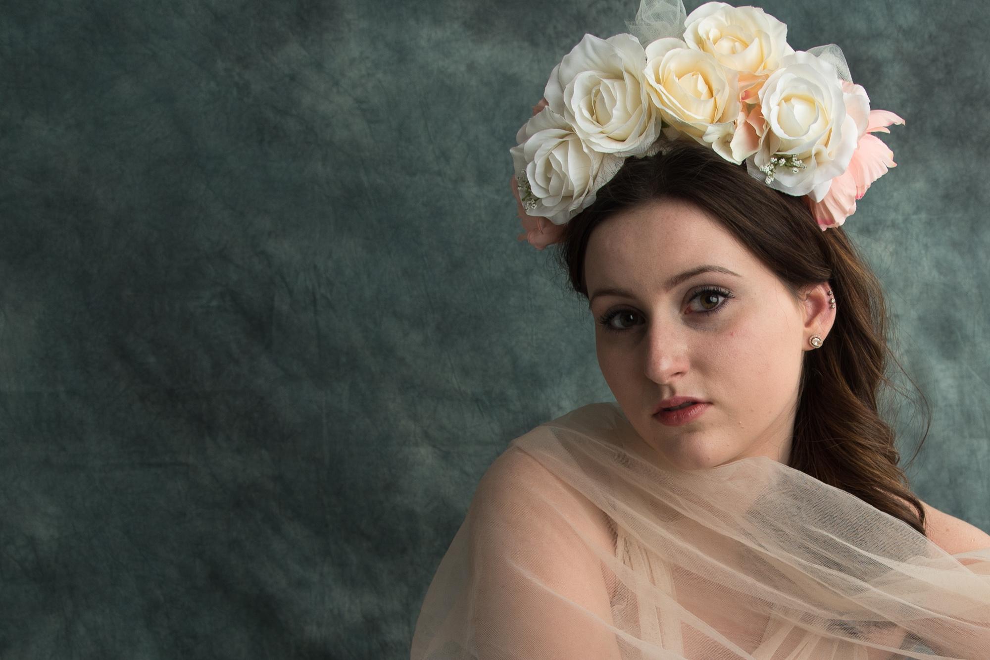 Beauty In Tulle & Flowers