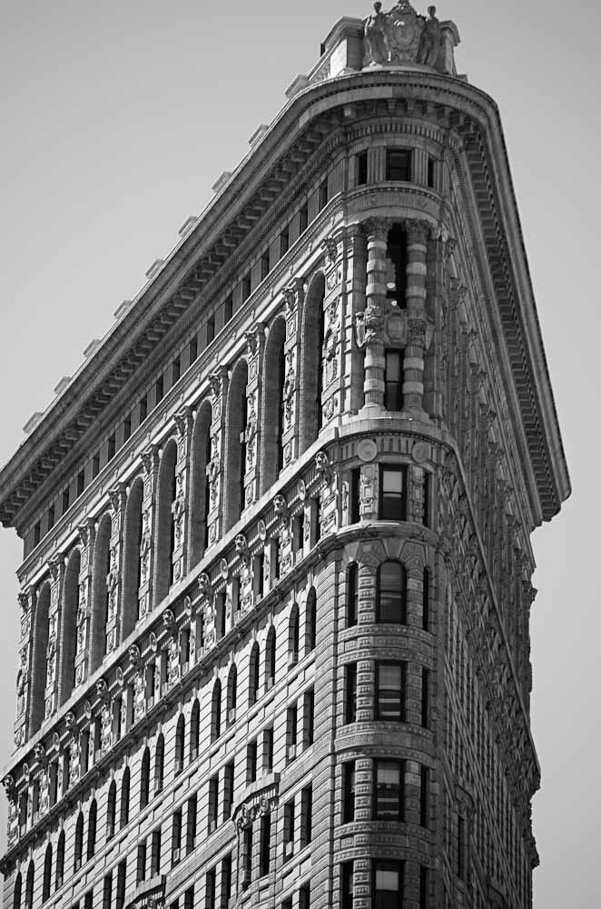Flat Iron Building - New York City, New York USA