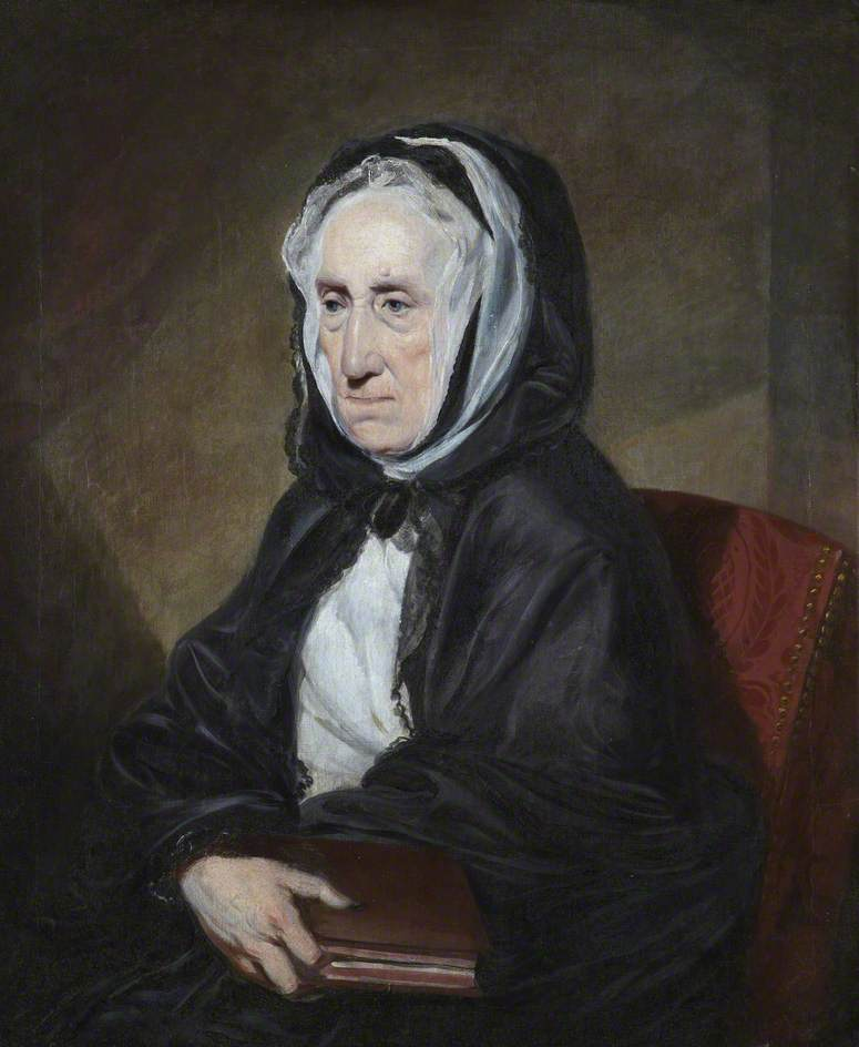 The portrait of Adam Smith's mother above has been published here with the kind permission of her owner Rory Cunningham