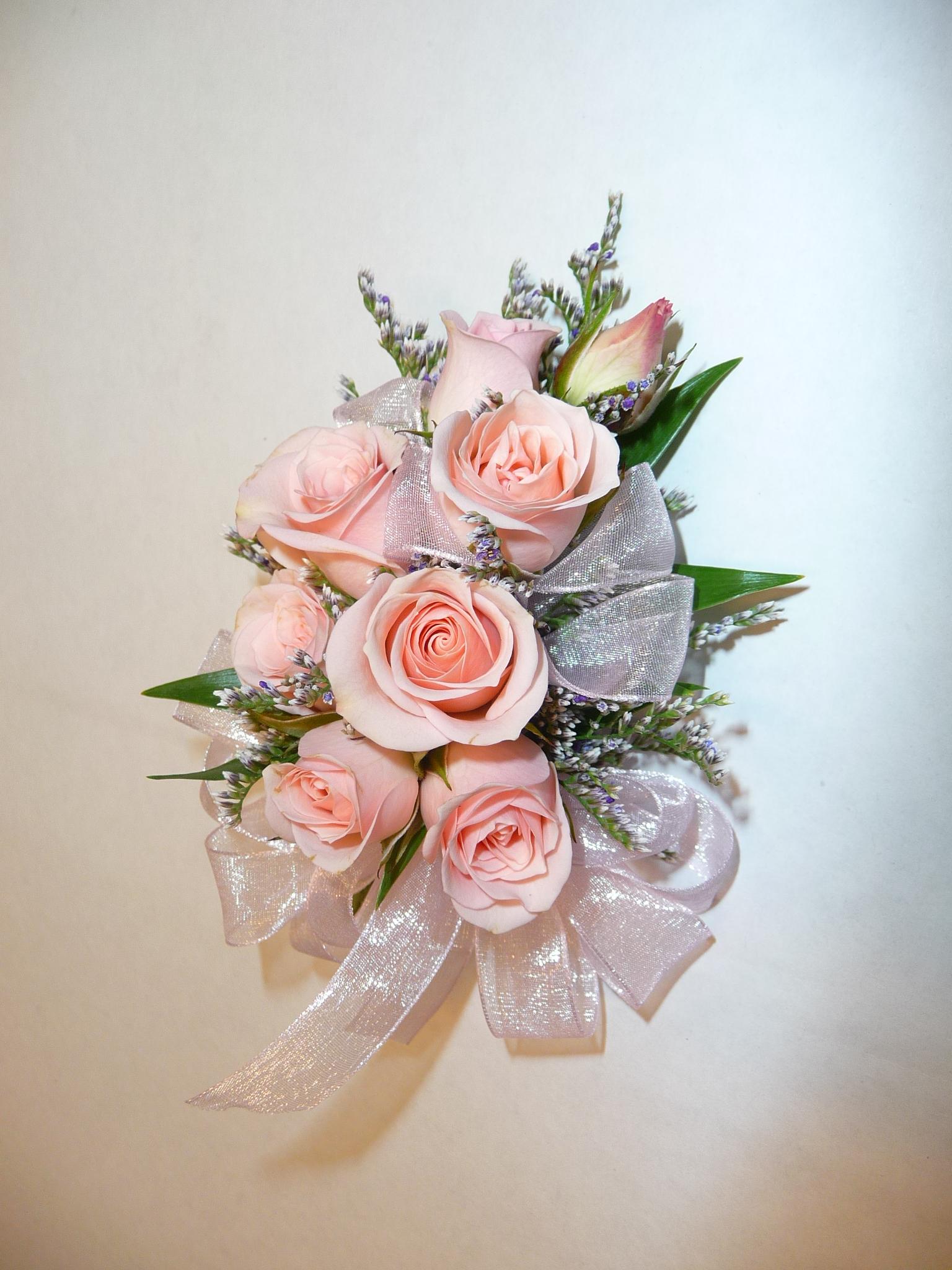 Sweet Roses Wrist Corsage